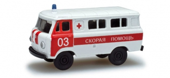 Train électrique : HERPA HER743808 - UAZ 452