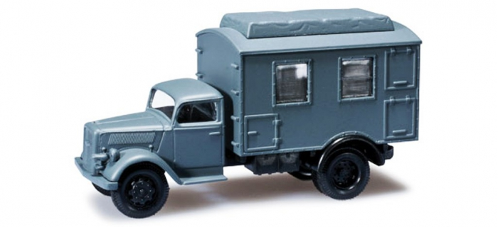 MODELISME FERROVIAIRE Herpa 744621 - Véhicule militaire Opel Blitz avec radiotéléphonie