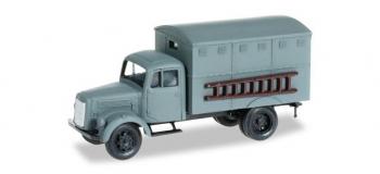 Train électrique : HERPA HER742061 - Mercedes-Benz L 3500 de type boîte camion