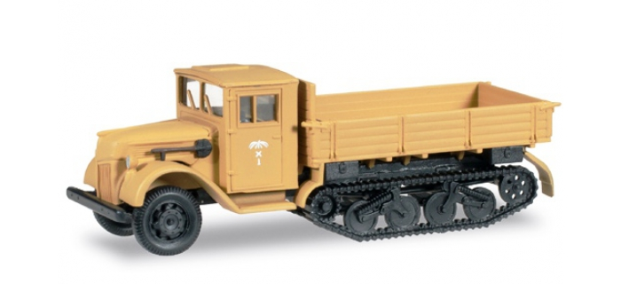 Train électrique : HERPA HER745086 - Véhicule Ford half-track