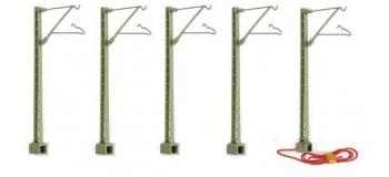 hornby Pylône de caténaire vert