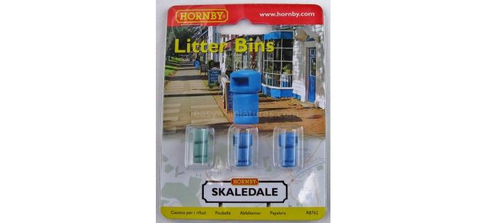 Hornby R8762 Poubelles de rues