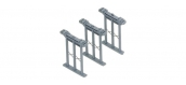 Grands piliers pour rail