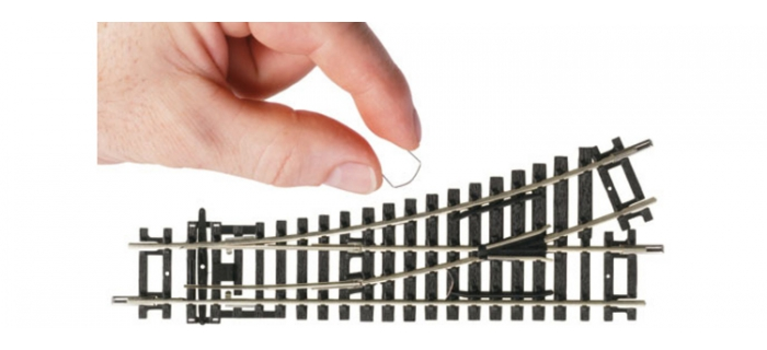 Clip pour aiguillage électrique