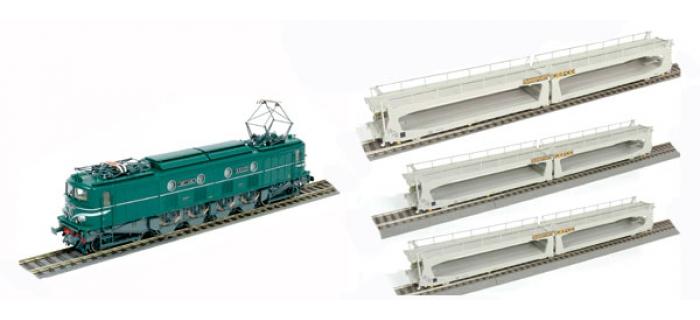 R624781 COFFRET LOCO 2D2 train electrique