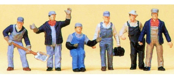 PR10453 Personnages pour train de marchandises