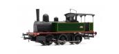 Modélisme ferroviaire : JOUEF HJ2379 - Locomotive à vapeur 030 TA 12 livrée verte du dépôt de Vierzon