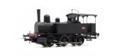 Modélisme ferroviaire : JOUEF HJ2380 - Locomotive à vapeur 030 TA 4 livrée noire du dépôt de Nice