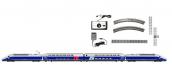 HJ1061 - Coffret de départ TGV Duplex livrée bleu gris - Jouef Junior