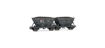 Modélisme ferroviaire  : JOUEF HJ6144 - Coffret de 2 wagons trémies EF30