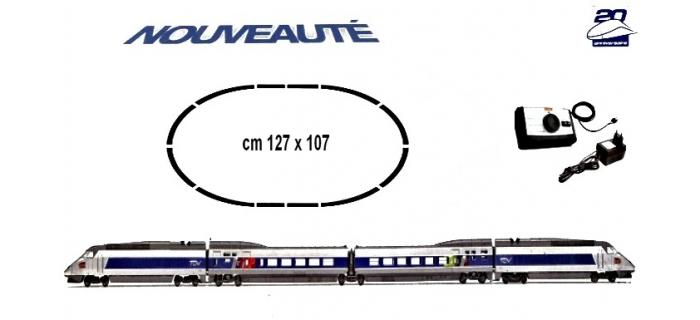 Jouef HJ 1025 TGV Atlantique, 20ème Anniversaire, Coffret 4 éléments details