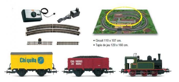 Jouef HJ1029 Coffret Vapeur Express modelisme ferroviaire