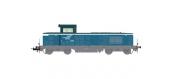 Modélisme ferroviaire : JOUEF - HJ2376 - Locomotive Diesel BB 566455, dépôt de Longeau, SNCF