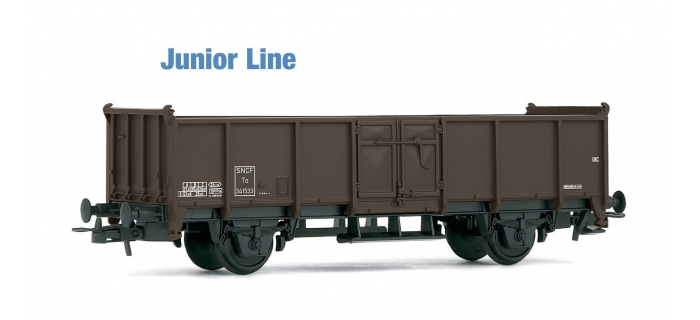 JOUEF JUNIOR HJ6106 - Wagon tombereau marron