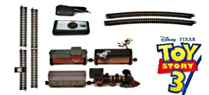 Jouef TR1149 Coffret train ToyStory 3 détails