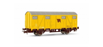 Modélisme ferroviaire  : JOUEF HJ5701 - Wagon couvert transport de chevaux, SNCF