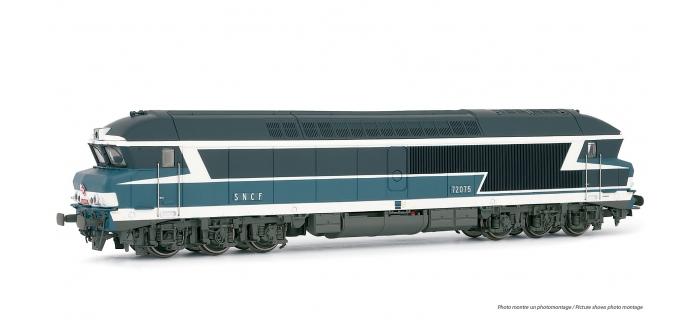 HJ2227 - Locomotive Diesel CC 72075 SNCF, sonorisée - Jouef