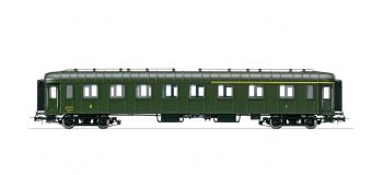 HJ4074 - Voiture OCEM RA mixte 1ère et 2ème classe, époque IV, SNCF * - Jouef