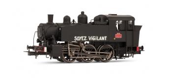 HJ2223 - Locomotive vapeur 030 TU 4, dépôt de Chaumont - Jouef