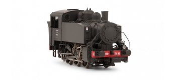 HJ2245 - Locomotive vapeur 030 TU 18, dépôt de Lilles-La délivrance - Jouef