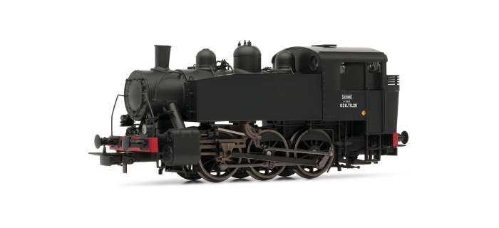 HJ2262 - Locomotive à vapeur 030 TU 20, SNCF époque III - Jouef