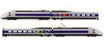 jouef hj2019 TGV POS, Coffret 4 éléments