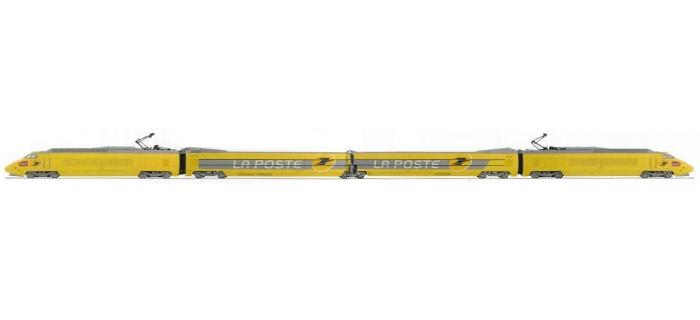 jouef hj2064 TGV La Poste, nouveau Logo, coffret 4 éléments