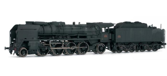 HJ2145 141 P - 257 dépôt de Belfort* train electrique