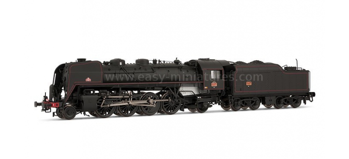 HJ2148 141 R 568 - DC sonorisé - tender charbon * Train electrique