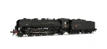 HJ2150 141 R 446 -tender charbon - dépôt de Mulhouse-nord * train electrique