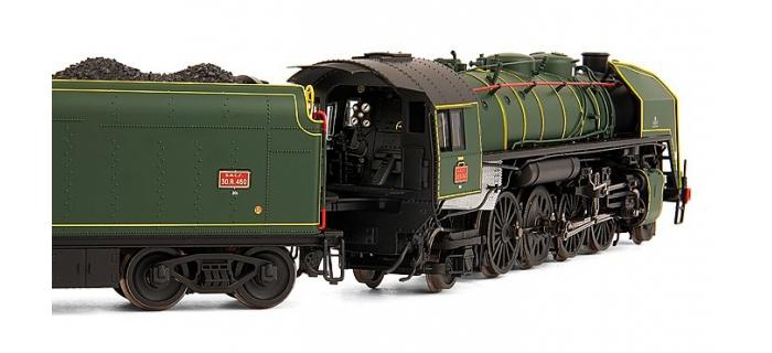train electrique Jouef HJ2154 locomotive vapeur 141R 460