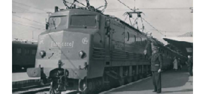 HJ2163 LOCOMOTIVE ELECTRIQUE 2D2 5500