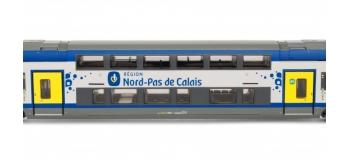 JOUEF HJ2201 - Automotrice électrique Z24500, région Nord Pas de Calais, 3 caisses.