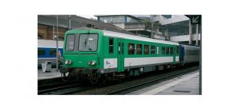 Train électrique : JOUEF HJ2205 - Autorail X2200, livrée vert et blanc