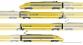 Train électrique : JOUEF HJ2209 - Coffret TGV La Poste, livrée d'origine
