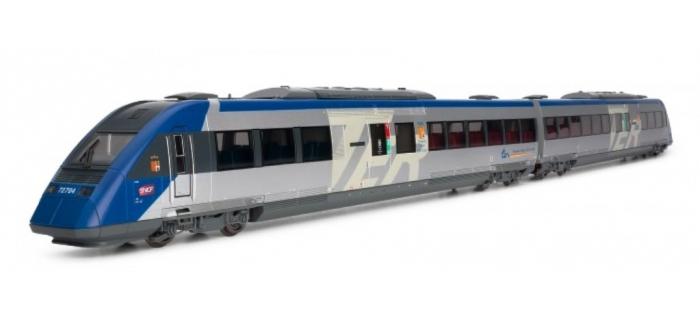 Train électrique : JOUEF HJ2212S - Rame automotrice Diesel X72500, 2 e?le?ments, re?gion Provence-Apes-Co?te d ?Azur sonorisée