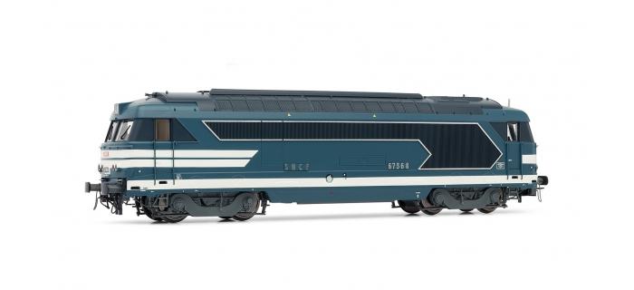 Train électrique : JOUEF HJ2219 - Locomotive diésel BB 67368 SNCF livrée bleu
