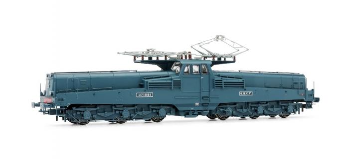 Train électrique : JOUEF HJ 2248 - Locomotive électrique CC14000 livrée verte, DIGITAL SOUND
