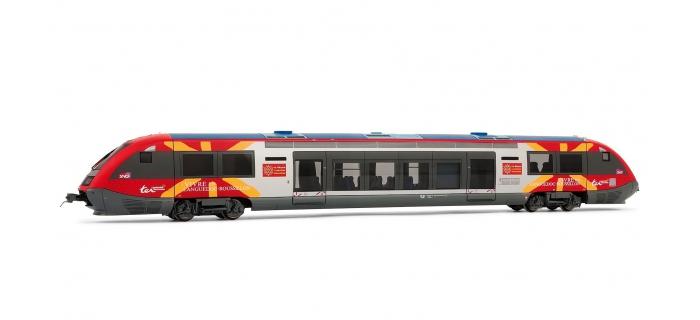 Train électrique : JOUEF HJ2254 - Autorail X73500, livrée Languedoc Roussillon