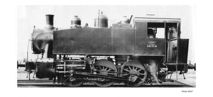 Train électrique : JOUEF HJ2261 - Locomotive à vapeur 030 TU 16, SNCF époque III Digital sonorisée