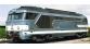 Train électrique : JOUEF HJ 2264 - Locomotive Diesel BB 67058, livre?e bleue a? plaques dépôt de Clermont-Ferrand. Epoque III