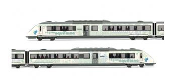 Train électrique : JOUEF HJ2279 - Automotrice Diesel X72500 nouvelle livrée Aquitaine, SNCF époque VI