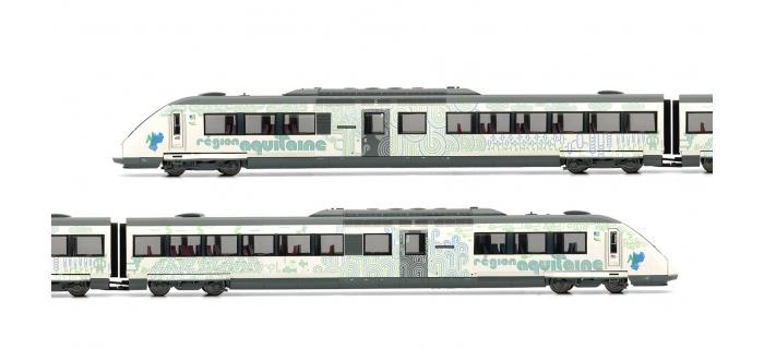 Train électrique : JOUEF HJ2280 - Automotrice Diesel X72500 nouvelle livrée Aquitaine, SNCF, époque VI, DCC sonorisée