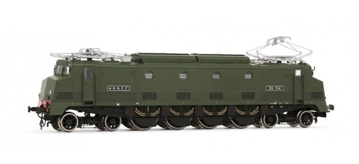 Train électrique : HORNBY JOUEF HJ2284 - Locomotive électrique 2D2 5547 Waterman, SNCF époque III