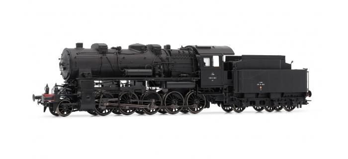 Modélisme ferroviaire : JOUEF HJ2297 - Locomotive à Vapeur 150C 661 (EX-AL), Dépôt de Longwy, SNCF