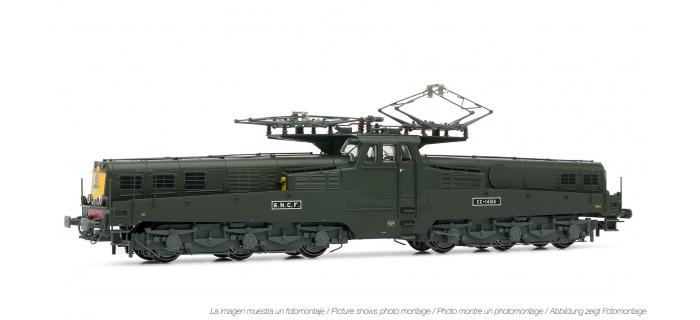 Modélisme ferroviaire  : JOUEF HJ2316 - Locomotive électrique CC 14166 livrée verte