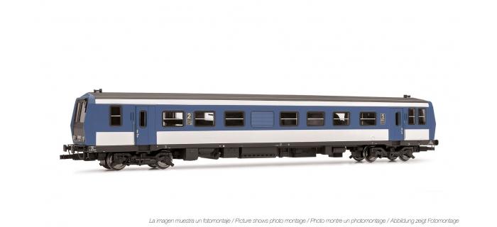 Train électrique  : JOUEF HJ2319 - Autorail X2200, SNCF, Livree bleu/blanc face frontale grise