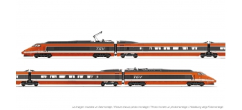 Train électrique : JOUEF HJ2326 - Coffret TGV Sud-Est livre?e orange, SNCF