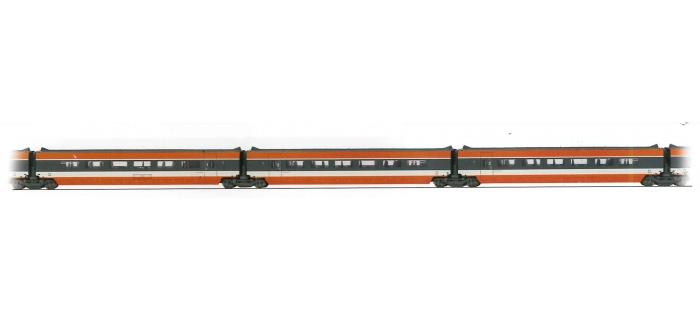 jouef HJ4016 Voitures TGV Sud-Est, coffret 3 voitures