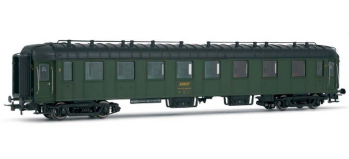 HJ4065 Voiture OCEM 2ème classe SNCF train electrique